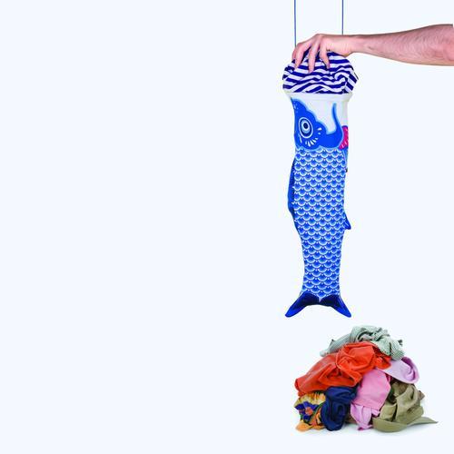 Koinobori Blue | Koinobori Laundry Bag