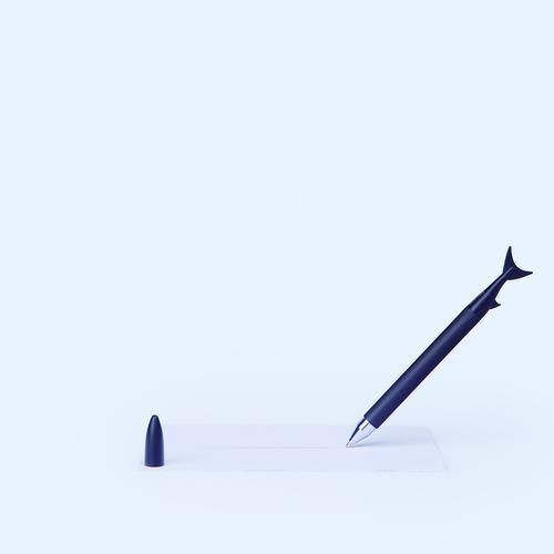 Ink Fish | Black | InkFish Pens by DOIY Design | Set of 3