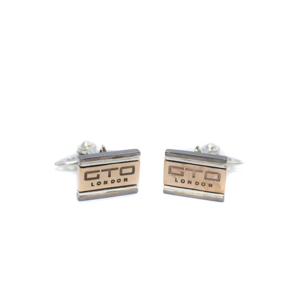 Rhodium GTO cufflinks | GTO London