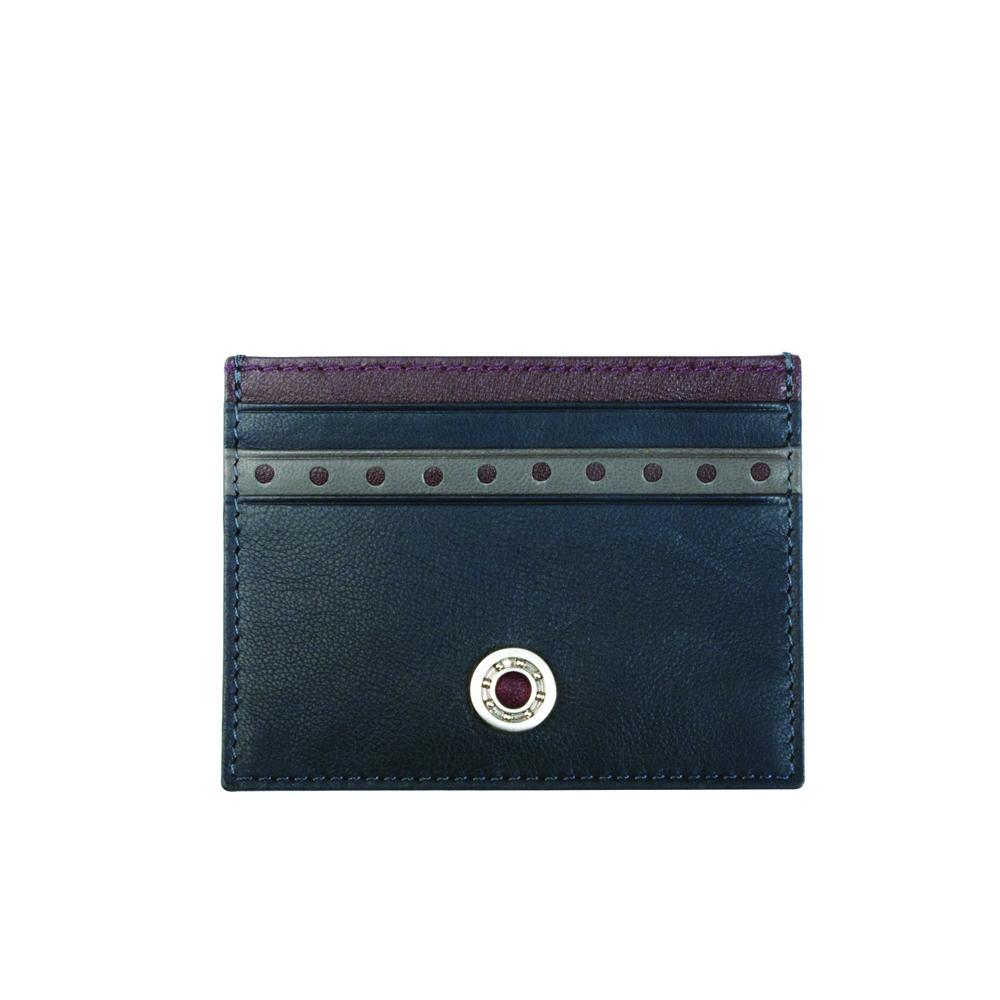 Leather Bearing Credit Card Holder | GTO London
