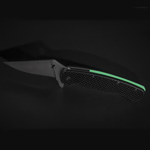 Glowing Knife | Black/Green