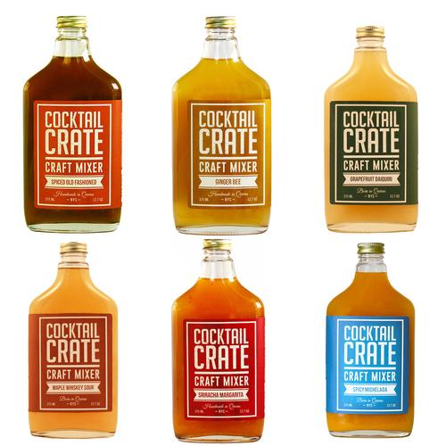 Cocktail Mixers | Ultimate Crate | Set of 6