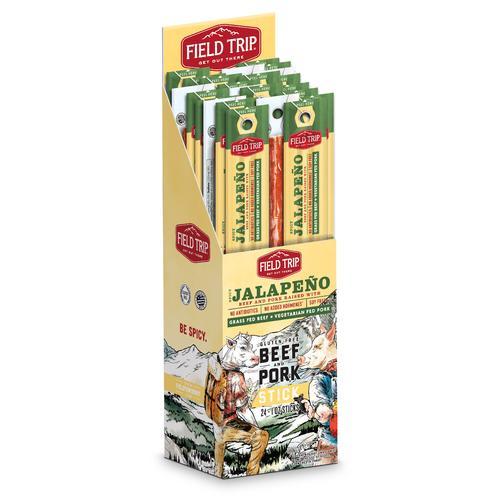 Beef/Pork Sticks | Spicy Jalapeño | Set of 24