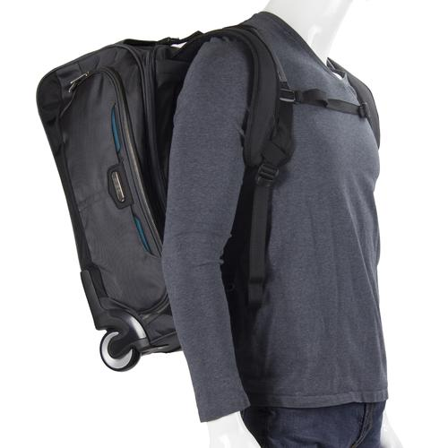 GLIDER rolling carry on with Backpack | BLUE