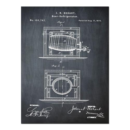 Beer Bottle-1934 Chalk   Paper