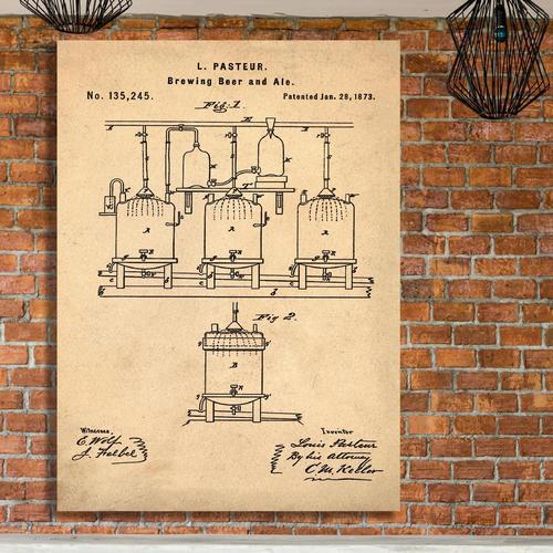 Pasteur-Sepia/Antique   Canvas