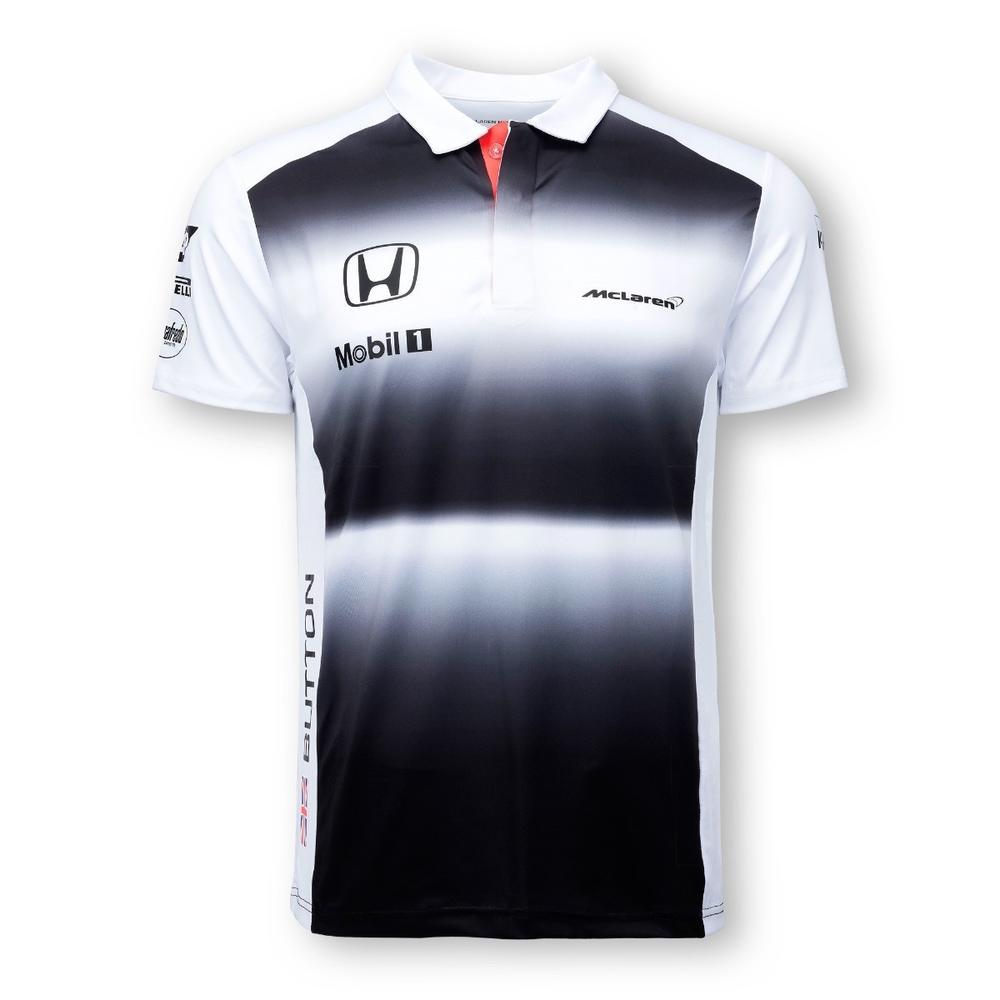 McLaren Honda Jenson Button Polo