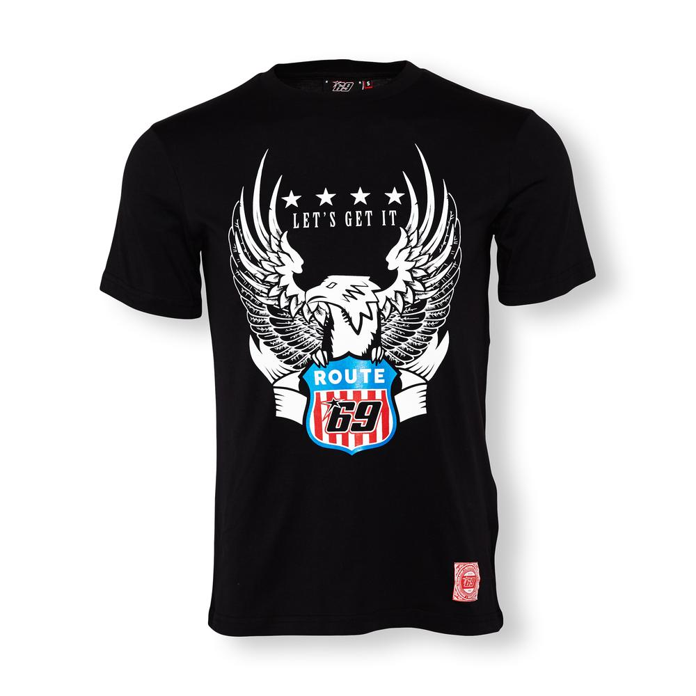 Nicky Hayden 69 Eagle Route T-shirt   Moto GP Apparel