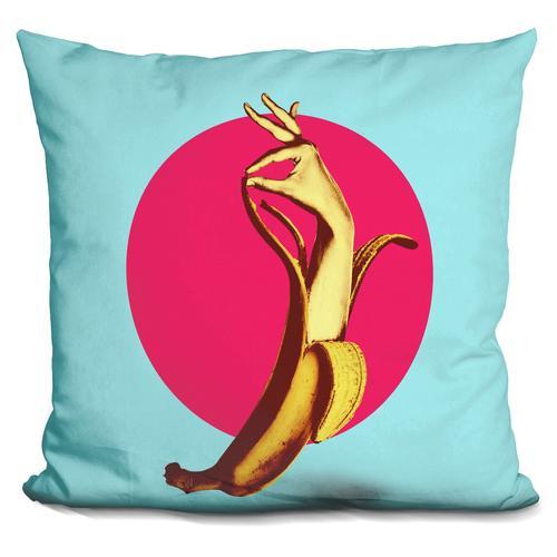 'El banana' Throw Pillow