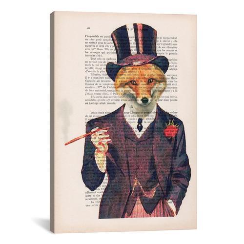 Vintage Paper Series: Dapper Fox