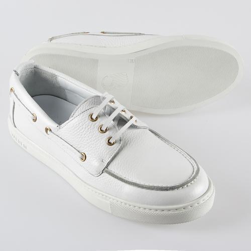 Boat Shoe | WHITE FLOATER