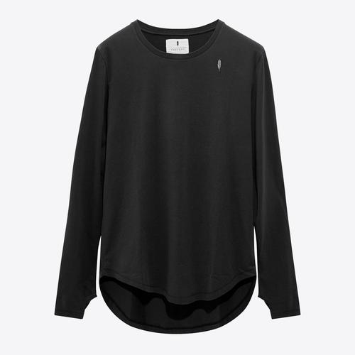 Essential Long Tee | Black