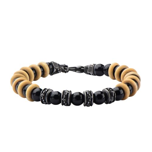 Men's Stainless Steel Skull  Bracelet