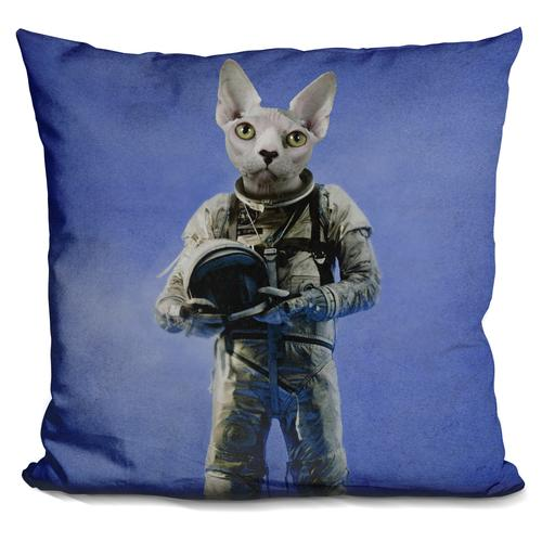 Durro Art 'Look into the distance' Throw Pillow