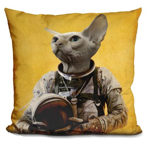 Durro Art 'Proud astronaut' Throw Pillow