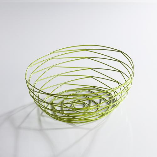 Weave Bowl | Powder Coated Green