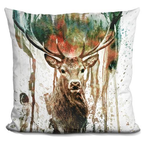 Riza Peker 'Deer' Throw Pillow