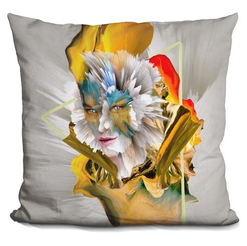 Riza Peker 'Evolution' Throw Pillow
