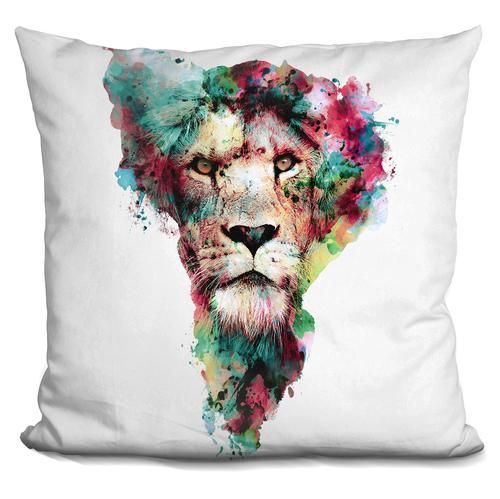 Riza Peker 'The King' Throw Pillow
