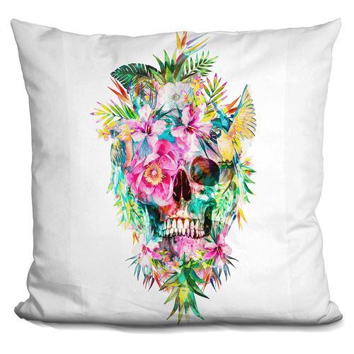 Riza Peker 'Momento Mori' Throw Pillow
