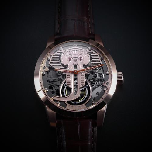 Jelephant Tourbillon Jackson Series  |  Gold
