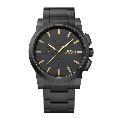 Hugo Boss Blackout Neo Black Dial Chronograph
