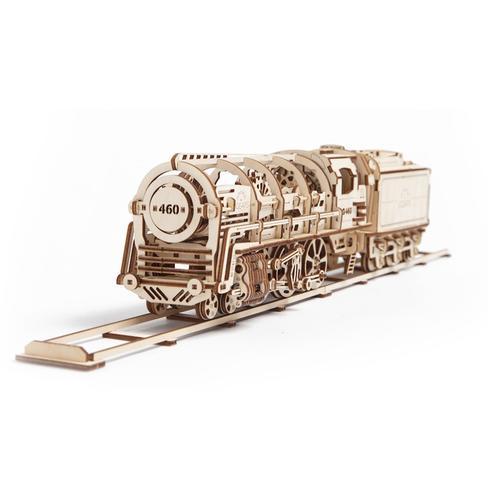 Steam Locomotive with tender