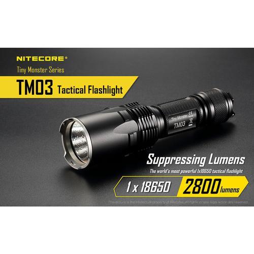 TM03 (2800 lumens suppressive burst) with UM10