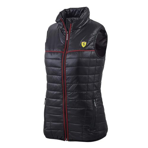 SCUDERIA FERRARI PADDED VEST LADIES