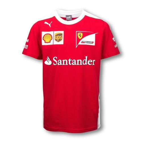 Scuderia Ferrari Team T-Shirt Kids 2016 Replica