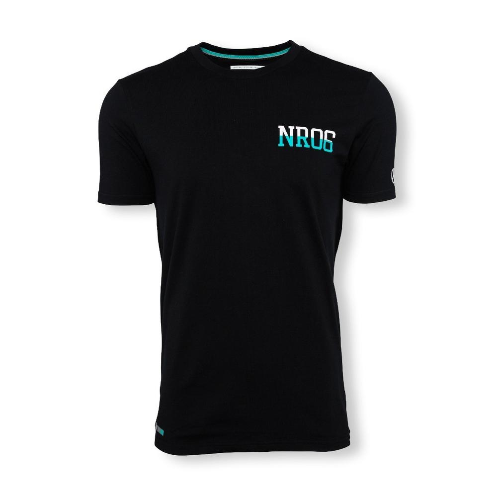 Mercedes Amg Petronas Nico 06 T-Shirt Mens | Black