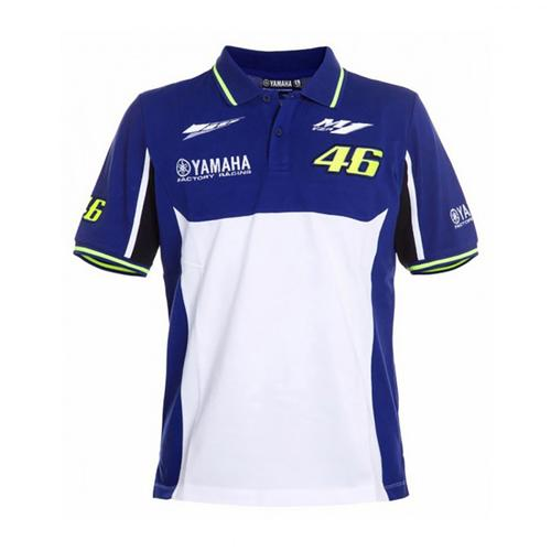 YAMAHA VALENTINO ROSSI POLO SHIRT MENS 2016 REPLICA