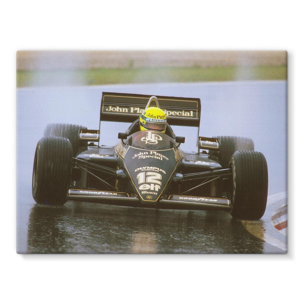 Ayrton Senna, Lotus 97T Renault   Motorstore Gallery