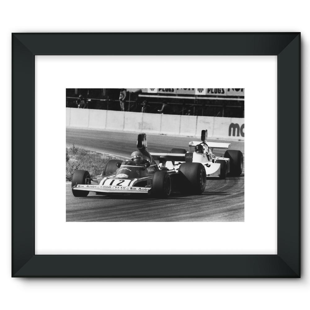 Niki Lauda AND James Hunt - 1974   Motorstore Gallery
