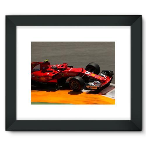 Kimi Raikkonen, Ferrari SF70H   Black